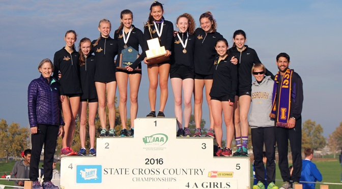 Issaquah girls XC team captures 2016 state crown