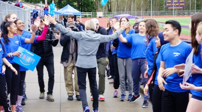 Brooks Inspiring Coach Pep Rally Photos