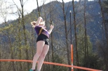 Week 4: @ the Skyline meet Eleanor vaulted to her lifetime PR!