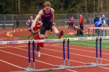 Week 3: Despite a disappointing fall in the 300m Hurdles, Austin demonstrated Eagle spirit picked himself up and finished his heat in 4th place.