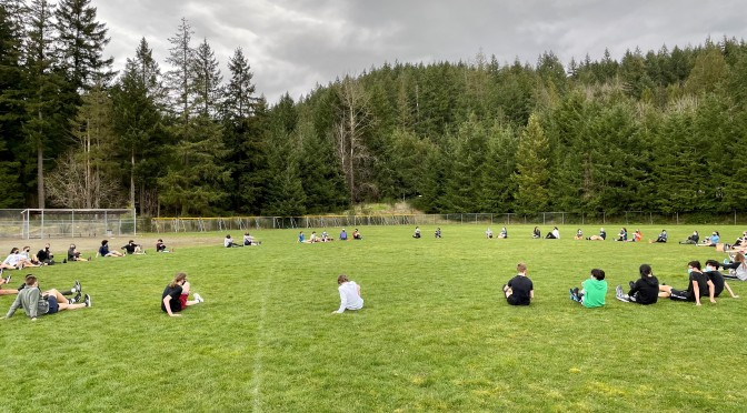 Race #2 Update: Liberty @ Issaquah @ Lk. Sammamish state park March 20